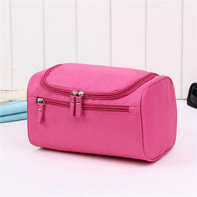 Hanging Travel Cosmetic Storage Makeup Bag Folding Toiletry Wash Pouch Big Bag W