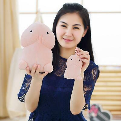 Plush Penis Toy Soft Stuffed Simulation Penis Christmas Gift for FF 02