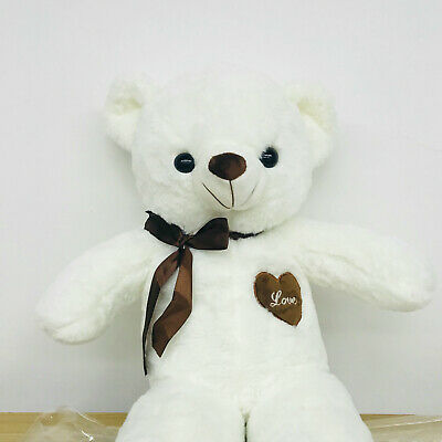 60CM Cute Big Plush Stuffed Teddy Bear Huge Soft 100% Cotton Toy Xmas Gift AU