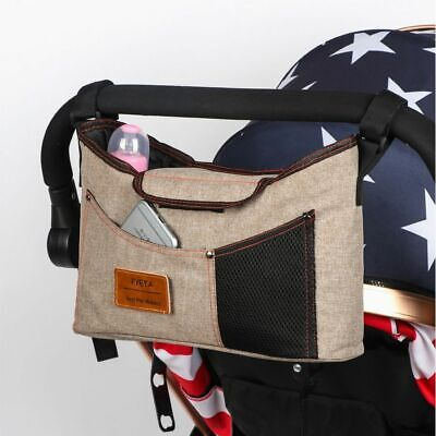 Stroller Bag Diaper Baby Stuff Accessory Organizer Hanging Carriage Bottle Bags