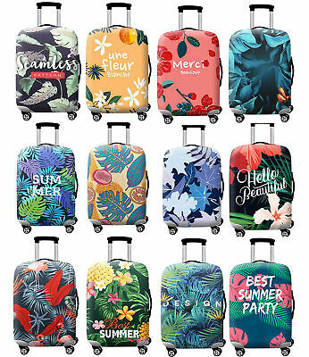 """18""""-32"""" Luggage Case Cover Antiscratch Polyester Elastic Trip Suitcase Protector"""