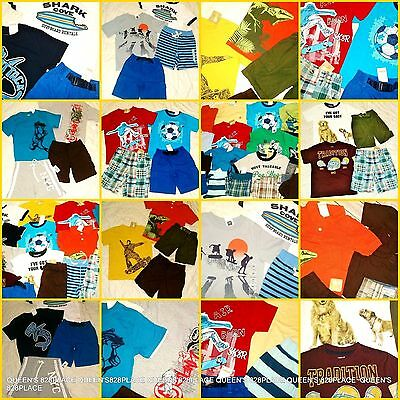 Nwt Gymboree Gap Boys Lot Size 4 4T Summer Clothes 17PCS Set Outfit shorts top