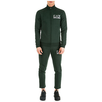 Emporio Armani Ea7 Men's Tracksuit Pants With Sweatshirt Fashion Green 711