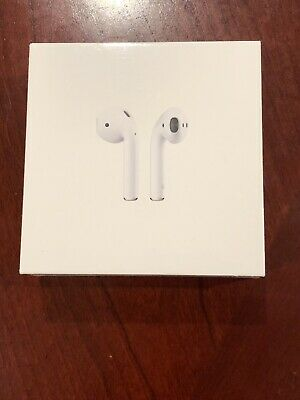 Brand New Sealed Apple AirPods with charging case 2nd Gen MV7N2AM/A 2019 newest