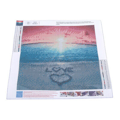 5D Diamond Painting Drill Rhinestone Embroidery Set Sunset Wall Decor SW
