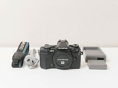 Olympus E-M5 Mark II em5 Digital Camera Body Only ~Excellent Co. ~$445 with code