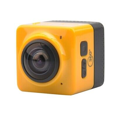 1X(Cube 360 Wifi 360 Degree Wide Angle Action Camera Sports Cam Recorder Wi I2M7