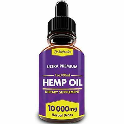 10000mg Organic Hemp Oil for Pain Relief Reduce Stress Joint Support Sleep Aid