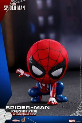 Hot Toys Spider-Man Crouching Version Mini Figure COSB514 COSBABY Doll Model Toy