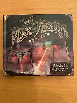 JEFF WAYNE - THE WAR OF THE WORLDS - THE NEW GENERATION (UK BOOK 2 x CD SET)