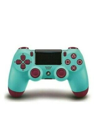 Sony Ps4 Dualshock 4 Wireless Controller - Official V2 - Berry Blue New