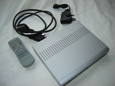 Astratec TOPD3 Digital TV Receiver including power supply, scart lead and remote
