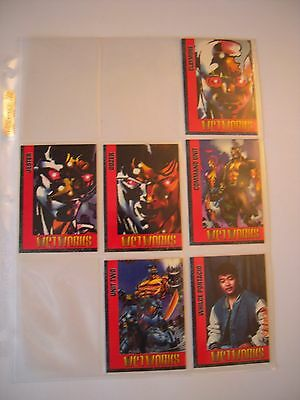 Cards Illustrated  Wetworks  3 4 5 6 8 9 Of 10    Tbe   93/94