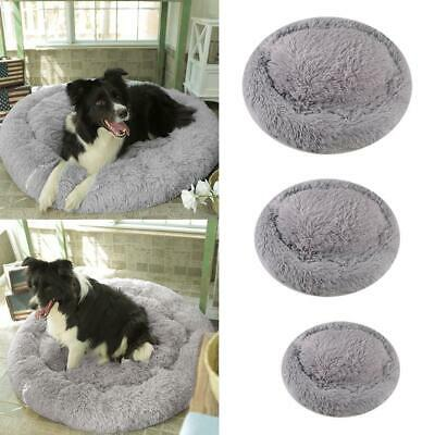 Pet Soothing Bed Warm Fleece Dog Round Bed Puppy Mat 50/60/70-CM