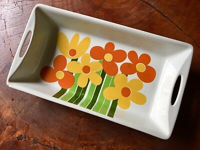 Vintage 1970s FIGGJO Norway ANNEMARIE Serving DISH Oven Tray MID CENTURY Pottery