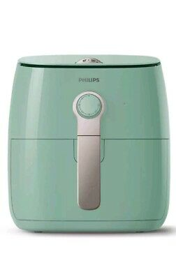 PHILIPS Viva Collection Airfryer HD9621/70 Heißluft Fritteuse Mint ohne gitter