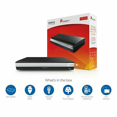 Humax HDR-2000T Freeview HD Recorder Set Top Box Play TV 500GB GRADE A STOCK