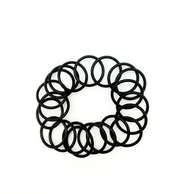 Nitrile Rubber O Rings Black Seal Ring 10 to 33mm Outer Diameter x 3mm Wire Dia.