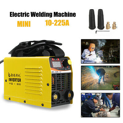 225Amp 240V Welder Inverter MMA Portable LCD ARC-225 Stick Welding Machine IGBT