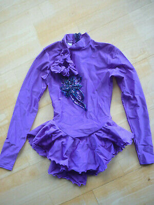Mondor Skating Dress Size Youth 12-14 Lilac