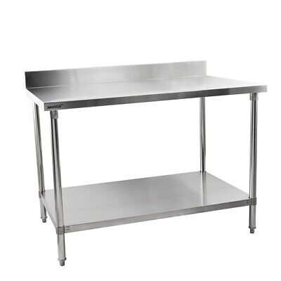 Commercial Stainless Steel Table Work Bench Shelf Imettos 301017
