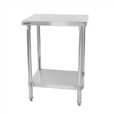Commercial Stainless Steel Table Work Bench Shelf Imettos 301011