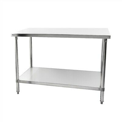 Commercial Stainless Steel Table Work Bench Shelf Imettos 301014