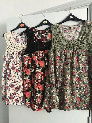 3x Lovely Ladies Tops All Size 16-18 All Immaculate