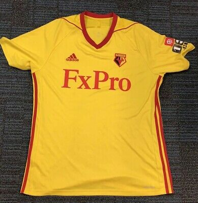 Watford football shirt Large 2017-2018 Collection Available Before Wembley