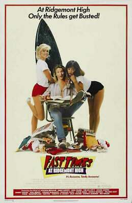 Fast Times At Ridgemont High Replica 1982 Movie Poster