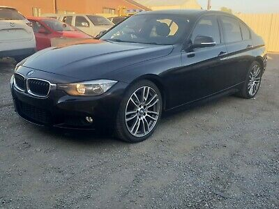 2012 BMW 328i F30 M SPORTS 57KMS 2.0L TURBO AUTOMATIC DAMAGED REPAIRABLE