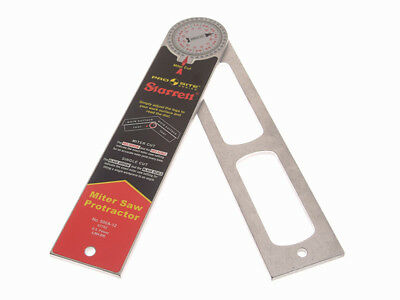 Starrett STR505A7 505 A7 Pro Site Protractor 175mm (7in)