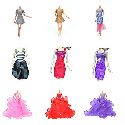 Fashion Handmade Clothes Dress For  Doll  Different Style R wd