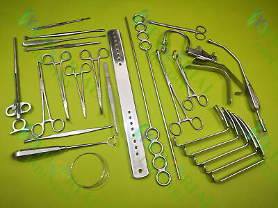 Tonsillectomy Set of 20 Pieces ENT Surgical Instruments Good Quality MI
