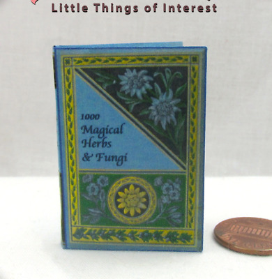 1000 MAGICAL HERBS AND FUNGI Magic Textbook 1:6 Scale Book POTTER Wizards