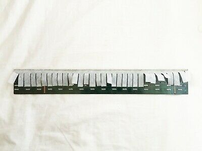 Roland S-50 D-50 D-20 W-30 Synthesizer 32-Note Key Contact Board. Works Great!