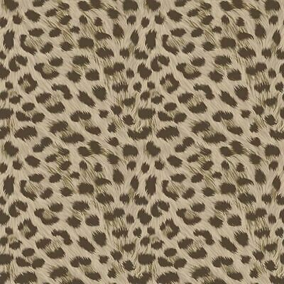 Fine Decor Animal Prints Brown Taupe Wallpaper FD42469 -Leopard Skin Furs Design