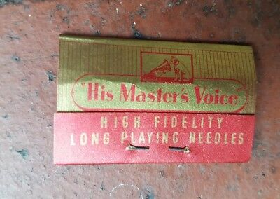 Hmv His Masters Voice High Fidelity Long Play Needles