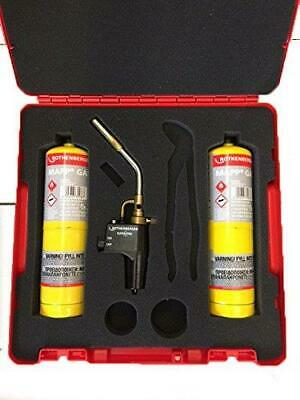 Rothenberger 18056 Hotbox Click Carry Rocase, Superfire2 & 2 x Mapp Gas