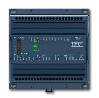 Distech ECL-PTU-207 B-ASC programmable BTL-Listed room controller