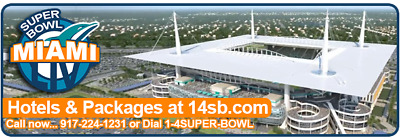 2020 SUPER BOWL LUXURY South Beach HOTEL & NFL ExperienceTickets - Miami 5 Nghts