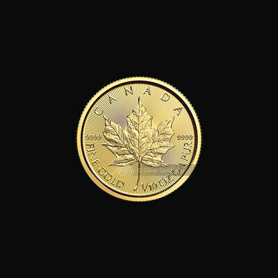 1/10 oz 2016 Canadian Maple Leaf Gold Coin