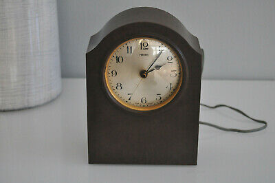 ferranti bakelite mantel electric clock  VINTAGE ANTIQUE