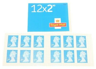 Royal Mail 2Nd Class Stamps Second Class Stamps Booklet Of X 12