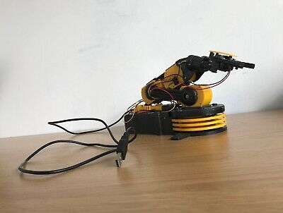 Build Your Own Robotic Arm with USB PC Interface