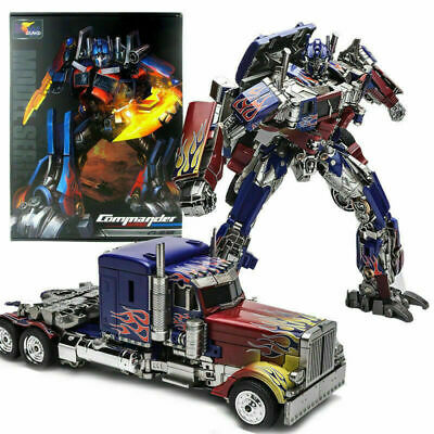 SS05 PVC Action Figure Transformers Optimus Prime WeiJiang Commander Oversized