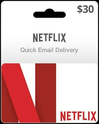 ✔️Netflix Gift Card $30 | 50% DISCOUNT* | FAST DELIVERY✔️
