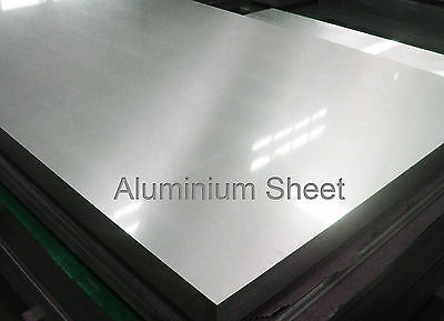 8mm 6082 T6 Aluminium Plate Sheet profiles blanks Any size free cutting squares