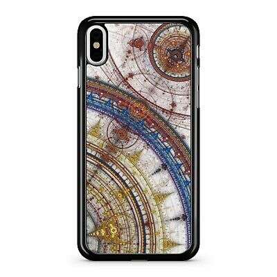 Ancient Old School Colourful Clock Fine Historical Antique Phone Case Cover