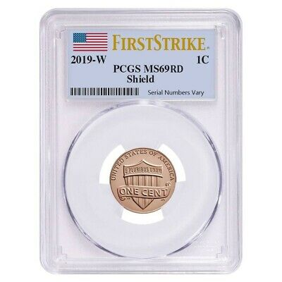 2019 W Uncirculated Lincoln Penny Cent Comm. PCGS MS 69 FS